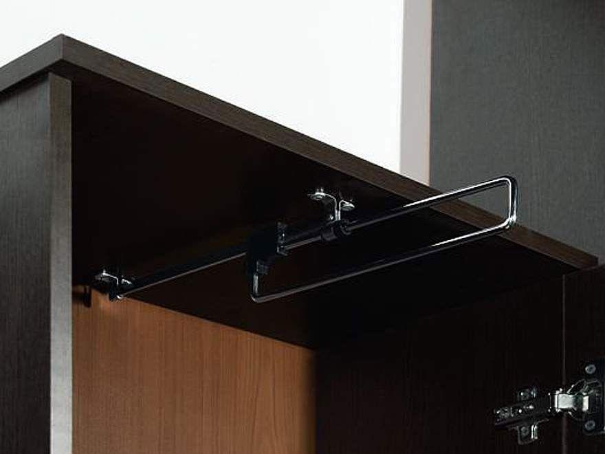 Mega токио прихожая шкаф для одежды (штанга выдвижная) недор.