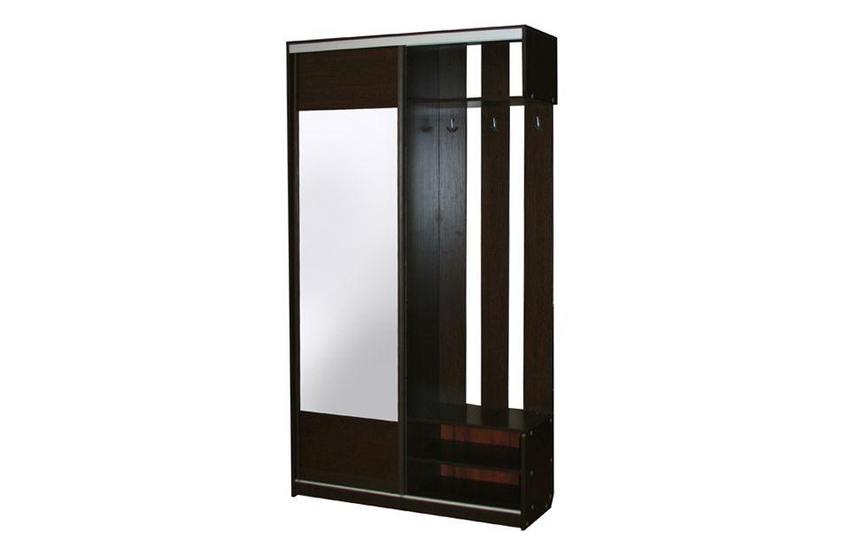 Прихожая-купе леон с зеркалом мебельград арт149 - купить в м.