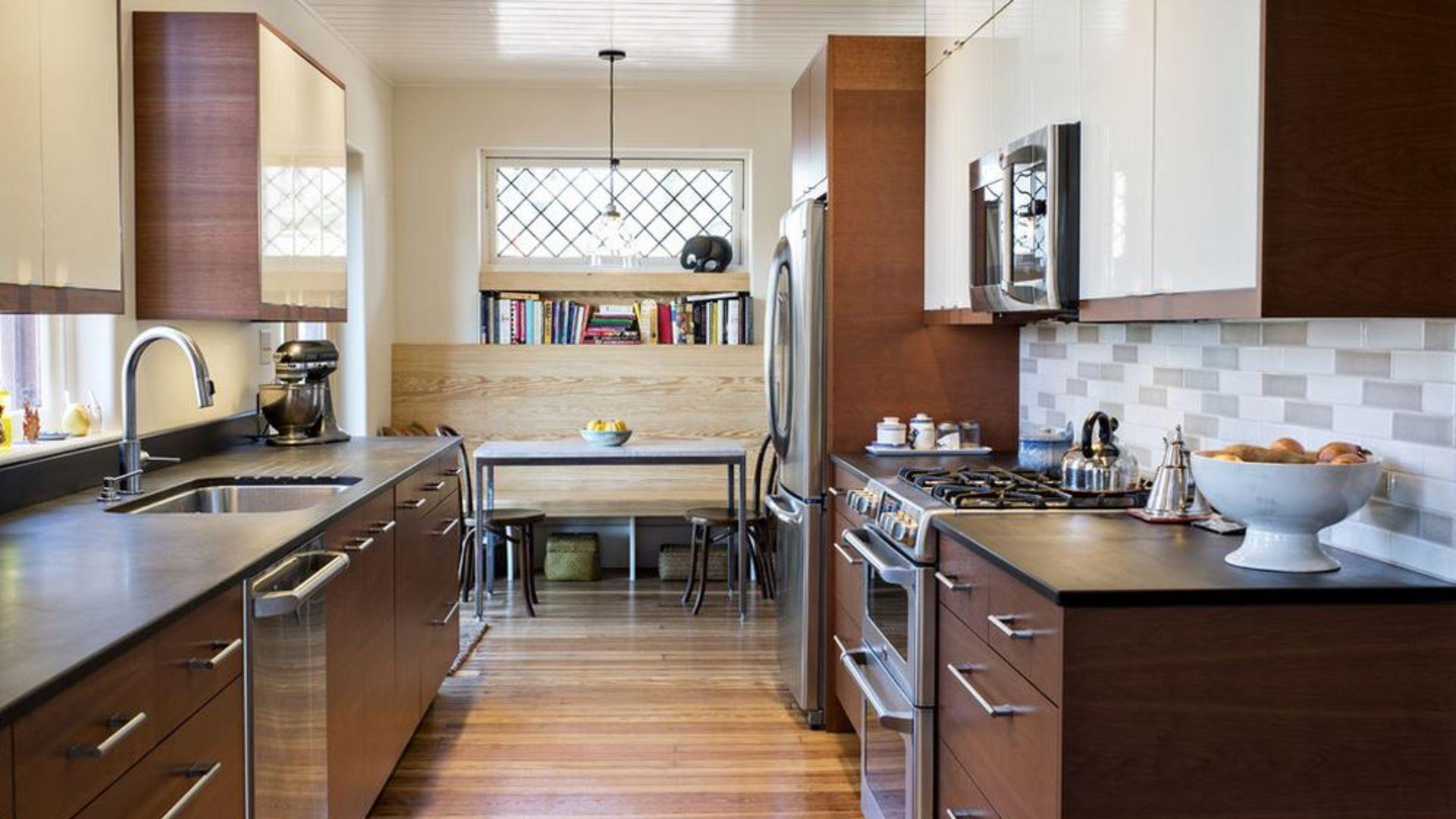 Дизайн прямоугольной кухни: советы по обустройству
