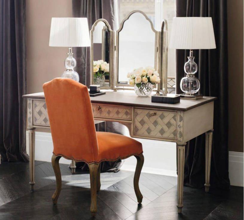Туалетный столик: фото, применение в дизайне комнат от прихожей до спальни