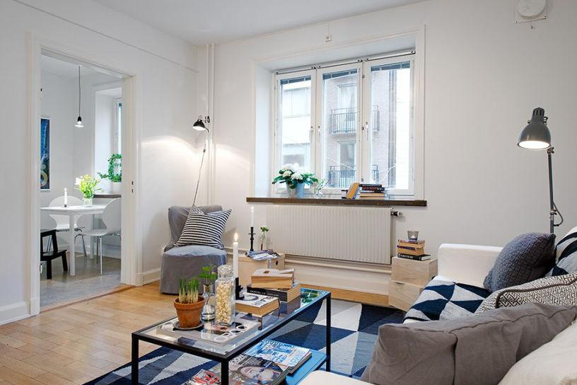 Дизайн однокомнатной квартиры 30 м²
