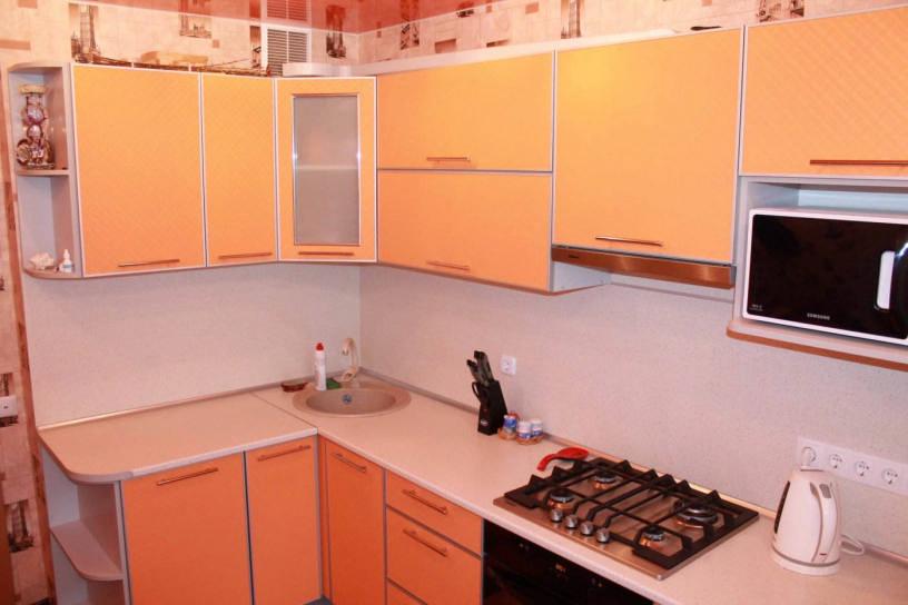 Дизайн кухни персикового цвета: полезные советы по оформлению