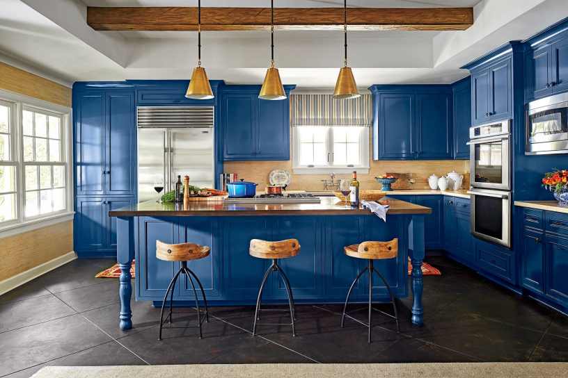 Шкафы для кухни: правила выбора, фото