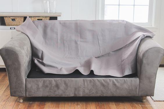 Как перетянуть диван - 23